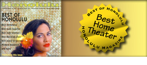 Best of Honolulu Award